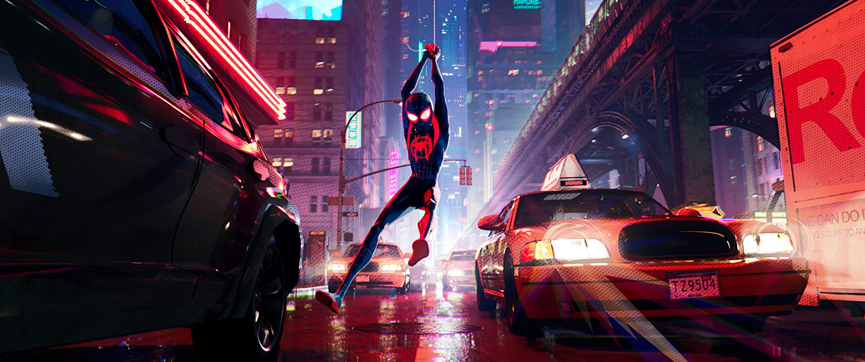 Spider-Man: Into the Spiderverse Backdrop
