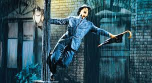 Singing in the Rain Backdrop